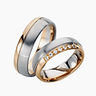Furrer-Jacot Two-Tone Wedding Ring