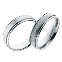Furrer-Jacot Brushed Center Wedding Ring: (/images/Items/1045.jpg) Furrer-Jacot