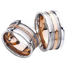 Furrer-Jacot Tone-on-Tone Wedding Ring: (/images/Items/1048.jpg) Furrer-Jacot