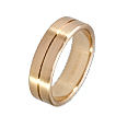 Furrer-Jacot Single Groove Wedding Band