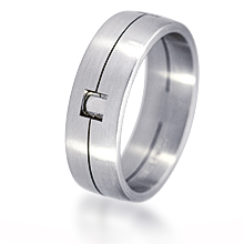 Furrer-Jacot Single Groove & Square Wedding Band: (/images/Items/1050.jpg) Furrer-Jacot