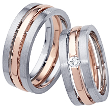 Furrer-Jacot Two-Tone Triple Wedding Band: (/images/Items/1051.jpg) Furrer-Jacot