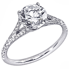 Stardust Active Split-Shank Engagement Ring: (/images/Items/1059.jpg) split shank