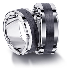 Furrer-Jacot Carbon Fiber Mechanized Wedding Band: (/images/Items/1087.jpg)