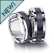 Furrer-Jacot Carbon Fiber Mechanized Wedding Band