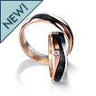 Furrer-Jacot 3 Color Carbon Fiber Wedding Band