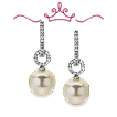 Red Carpet Pearl & Diamond Earrings