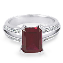 Custom Ruby Split-Shank Engagement Ring: (/images/Items/1109.jpg)