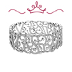 Red Carpet Coll. Diamond Swirl Cuff