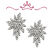 Red Carpet Collection Diamond Cluster Earrings