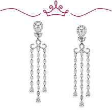 Red Carpet Coll. Gardner Drop Chandelier Earrings: (/images/Items/1126.jpg)