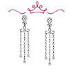 Red Carpet Coll. Gardner Drop Chandelier Earrings