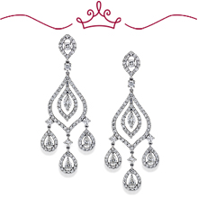 Red Carpet - Lindsay Chandelier Diamond Earrings: (/images/Items/1128.jpg)