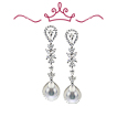 Red Carpet - Stanwyck Pearl Drop Earrings