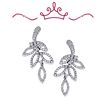 Red Carpet - Chatterton Leaf Earrings