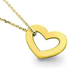 Heart of Gold Pendant: (/images/Items/149.jpg) ,engagement rings,diamond engagement rings