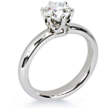 Half Round Custom Crowne Engagement Ring: (/images/Items/165.jpg) Tiffany,crowne,engagement ring,engagement rings,diamond engagement rings