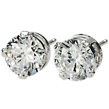 Ideal Cut Signity By Swarovski Cz Stud Earrings Images Items 173