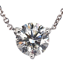 Three Prong Classic Pendant: (/images/Items/33.jpg) necklace,pendant,engagement rings,diamond engagement rings