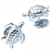 Rotenier Turtle Cufflinks: (/images/Items/370.jpg) turtle,cufflink,silver,engagement rings,diamond engagement rings