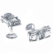 Rotenier Classic Convertible Cufflinks: (/images/Items/375.jpg) garnet,sapphire,silver,cufflinks,engagement rings,diamond engagement rings