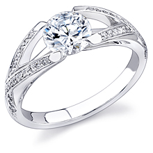 Stardust Active Split-Shank Engagement Ring: (/images/Items/379.jpg) ,engagement rings,diamond engagement rings