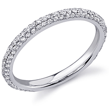 Stardust Active Pavé Wedding Ring: (/images/Items/381.jpg) ,engagement rings,diamond engagement rings