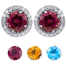 Changeable Round Cut Earrings: (/images/Items/392.jpg) Changeables,earrings,fashion jewelry,engagement rings,diamond engagement rings