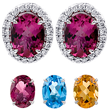 Changeable Oval Cut Earrings: (/images/Items/394.jpg) Changeables,Fashion Earrings,JEwelry,Gold,engagement rings,diamond engagement rings