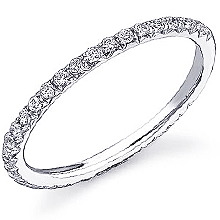 Stardust Active French Pavé Wedding Ring: (/images/Items/417.jpg) ,engagement rings,diamond engagement rings