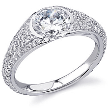 Stardust Active Pavé Engagement Ring: (/images/Items/419.jpg) ,engagement rings,diamond engagement rings