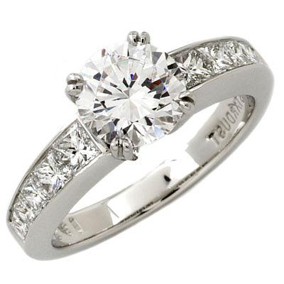 Channel-Set Princess Engagement Ring by Stardust: (/images/Items/42/pic1.jpg) Stardust Diamonds - Engagement Ring,engagement rings,diamond engagement rings
