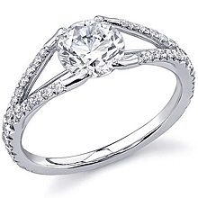 Stardust Active Split Shank Engagement Ring: (/images/Items/420.jpg) ,engagement rings,diamond engagement rings