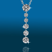 Scintillating 6stone Graduated Pendant PD1985: (/images/Items/424.jpg) ,engagement rings,diamond engagement rings