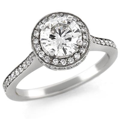 Halo Engagement Ring by Stardust Designs: (/images/Items/429/pic1.jpg) Stardust Diamonds - Engagement Ring,engagement rings,diamond engagement rings