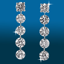 Scintillating 5st Straight Earrings ER1490: (/images/Items/431.jpg) ,engagement rings,diamond engagement rings