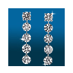 Scintillating 5st Straight Earrings ER1490