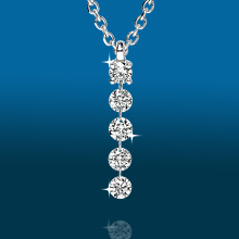 Scintillating 5stone Straight Pendant PD1938: (/images/Items/434.jpg) ,engagement rings,diamond engagement rings