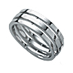Furrer-Jacot Triple Band Wedding Ring