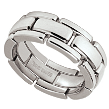 Furrer-Jacot Link Wedding Ring: (/images/Items/595.jpg) Furrer-Jacot,wedding band,wedding ring,platinum,gold,engagement rings,diamond engagement rings