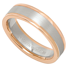 Furrer-Jacot Two-Tone Wedding Band: (/images/Items/597.jpg) ,engagement rings,diamond engagement rings