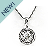 Diamond Double Bezel Pendant