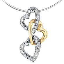 Chain of Hearts Pendant: (/images/Items/632.jpg) ,engagement rings,diamond engagement rings
