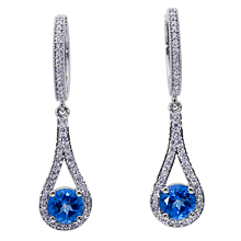 Azur Drop Earrings: (/images/Items/635.jpg) Drop earrings,Topaz,gold,platinum,engagement rings,diamond engagement rings