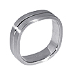Furrer-Jacot Square Wedding Ring