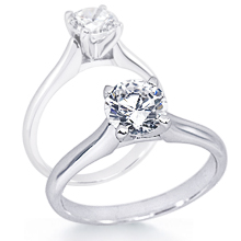 Solitaire Engagement Ring: (/images/Items/648.jpg) Gold Platinum Diamond Ring ,engagement rings,diamond engagement rings