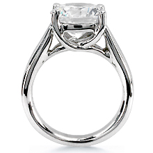 rings stone gold engagement cut white three round trellis with diamond ring diamonds sku