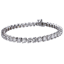 Diagonal 2-Prong Diamond Tennis Bracelet: (/images/Items/94.jpg) tennis bracelet,diamond bracelet,gold bracelet,platinum bracelet,engagement rings,diamond engagement rings