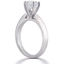 Solitaire Engagement Ring: (/images/Items/ENR1280_Angle.jpg) Gold Platinum Diamond Ring ,engagement rings,diamond engagement rings