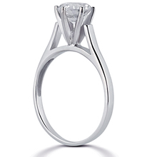 Solitaire Engagement Ring: (/images/Items/ENR2397_Angle.jpg) Gold Platinum Diamond Ring ,engagement rings,diamond engagement rings